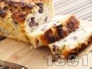 Рецепта Домашен бирен хляб с маслини без мая, със сода